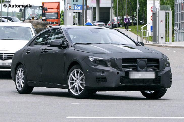 Vorschau Mercedes CLA