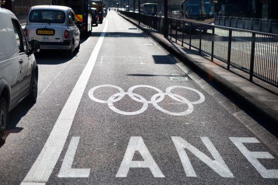 Londons Verkehr ächzt unter Olympia