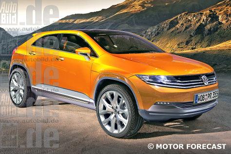 VW Touareg CC (2015): Vorschau aufs große SUV-Coupé ...