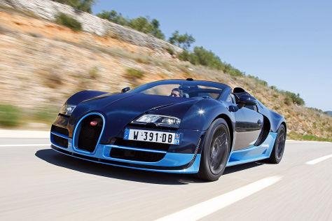 Bugatti Veyron Grand Sport Vitesse Im Fahrbericht