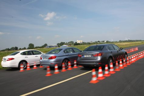 BMW 5er Infiniti M Lexus GS
