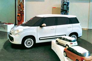 Sieben Sitze f�r Fiat 500