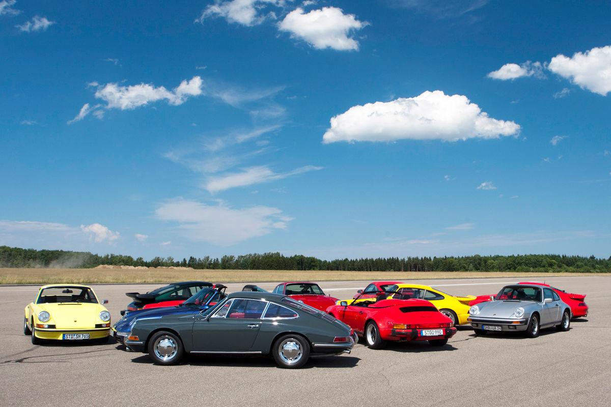 Porsche 911 Vergleichstest