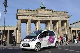 E-Carsharing in Berlin