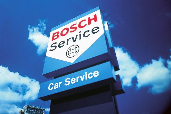 Schild Bosch-Car-Service