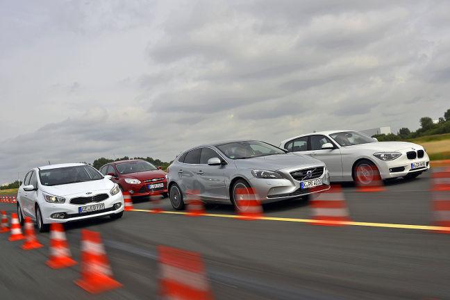 Video: Ford Focus, Kia cee'd, Volvo V40, BMW 116d