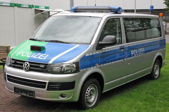 Multivan Polizei