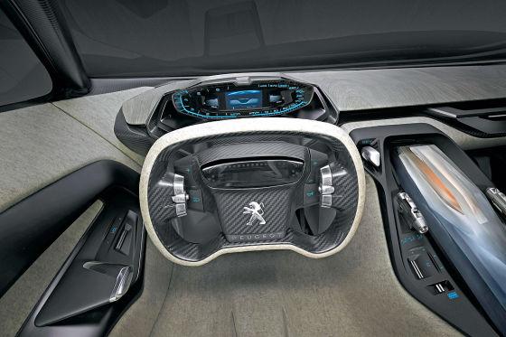 Peugeot Onyx Sportwagenstudie Paris 2012