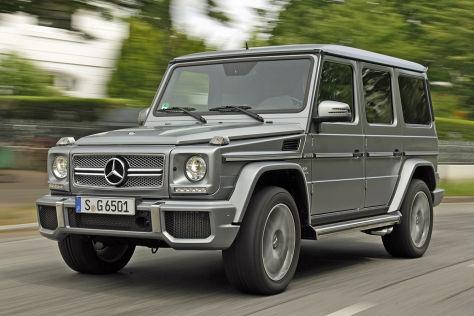 Mercedes G 65 Amg Fahrbericht Autobild De