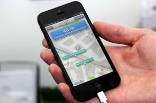 Neues iPhone 5 als Navi