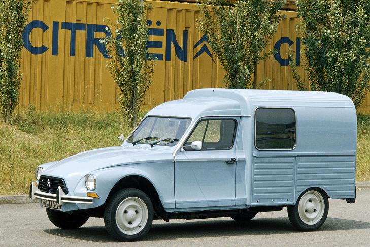 Citroën Acadiane 1978-1978
