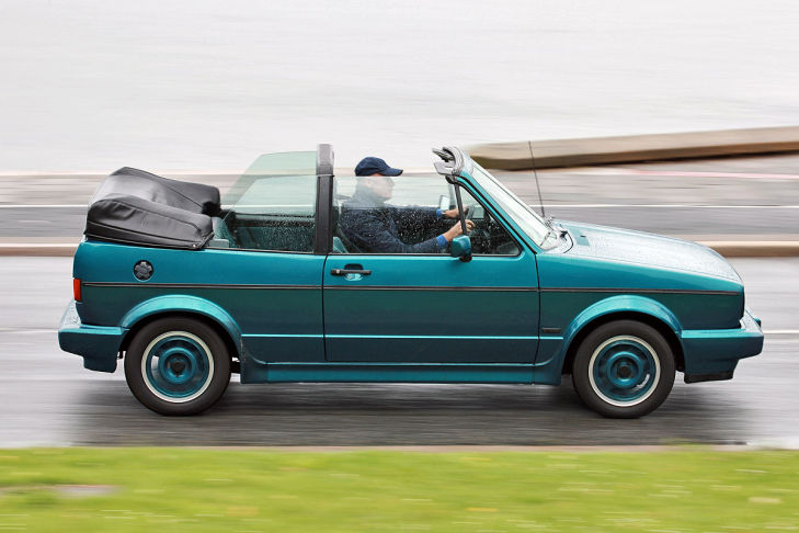 VW Golf I Cabriolet Coast