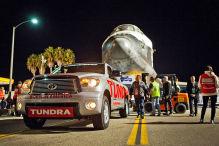 Tundra zieht Space Shuttle