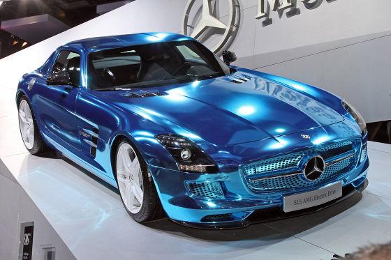 Mercedes SLS Electric Drive