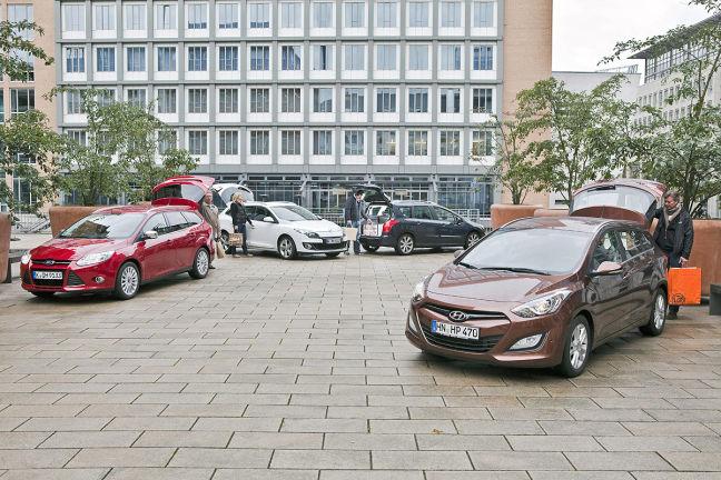 Video: Hyundai i30, Ford Focus, Renault Mégane, Peugeot 308