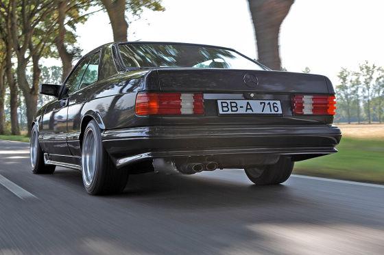 Mercedes 560 SEC AMG 6.0