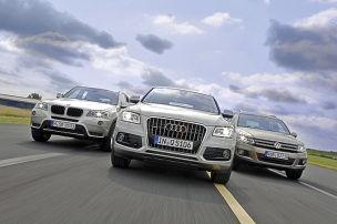 Die beliebtesten 4x4-SUVs