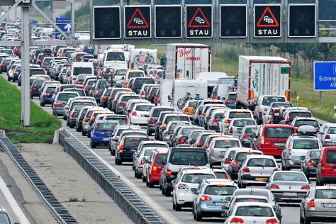 ADAC-Studie: Verkehrsentwicklung
