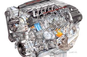 Corvette mit mehr Power