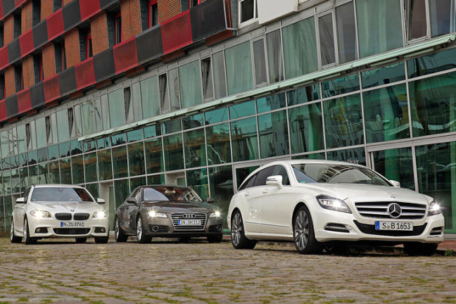 Video: BMW 5er, Audi A7, CLS Shooting Brake