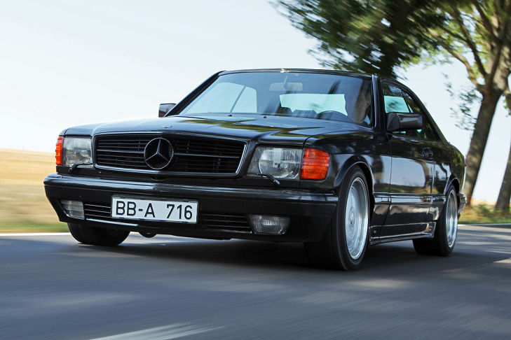 Mercedes 560 SEC AMG 6.0 - Bil...