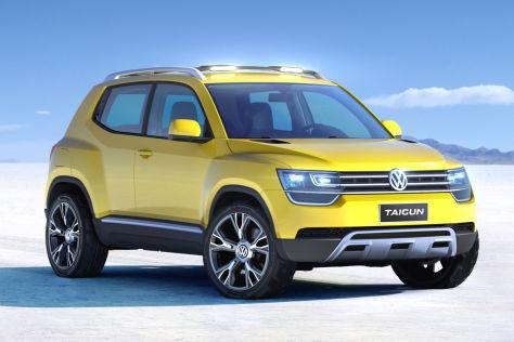 VW Taigun: SUV-Studie auf der Sao Paolo Motor Show 2012 ...