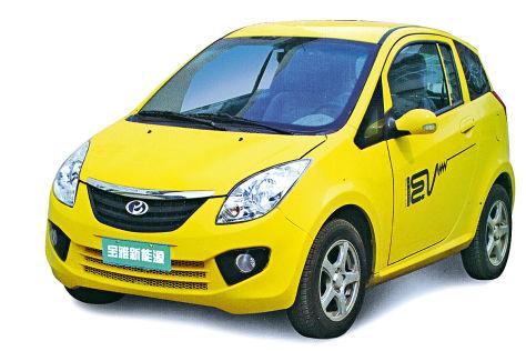 Elektroauto Baoya By-E-Car-02 aus China