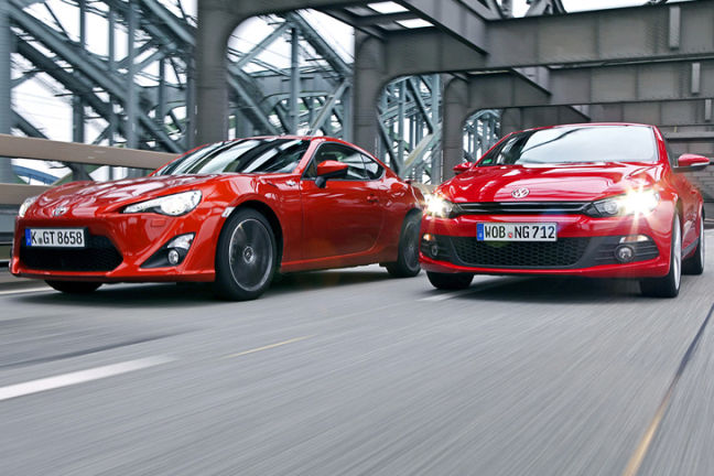 Video: Toyota GT86/VW Scirocco