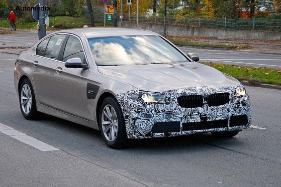 Erlkönig BMW 5er Facelift