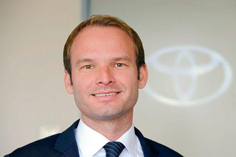 Henning Meyer, Pressesprecher Toyota Deutschland