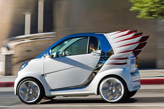 Smart flattert nach L.A.