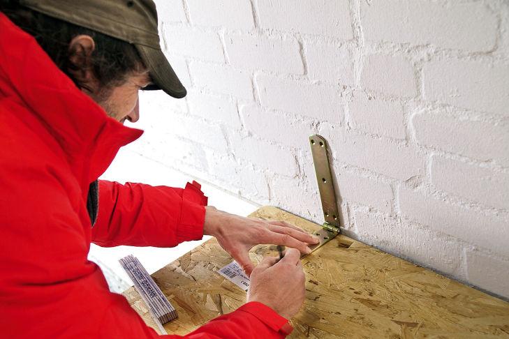 Bauanleitung: Klapp-Werkbank für enge Garagen
