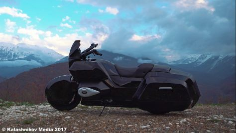 Kalaschnikow baut Motorrad
