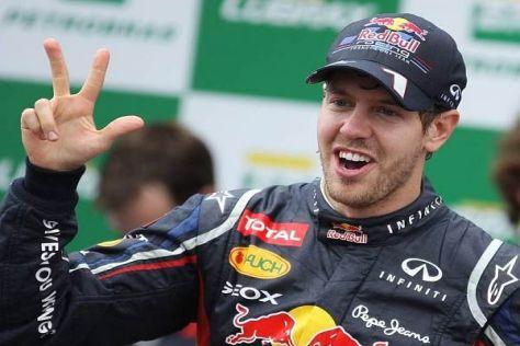 Weltmeister Sebastian Vettel hat nach drei Titeln noch lange nicht genug
