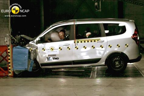 Dacia Lodgy Euro Ncap Crashtest Autobild De