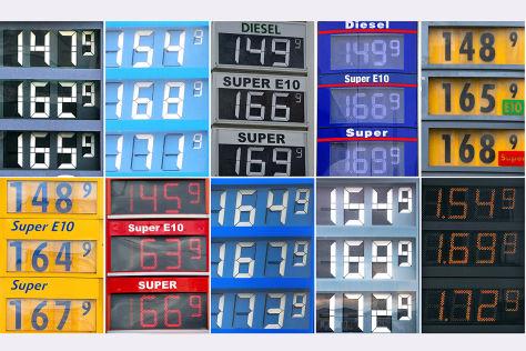 Kraftstoffpreise hoch wie nie