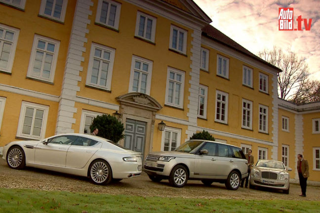 Video: Bentley, Range Rover, Aston Martin