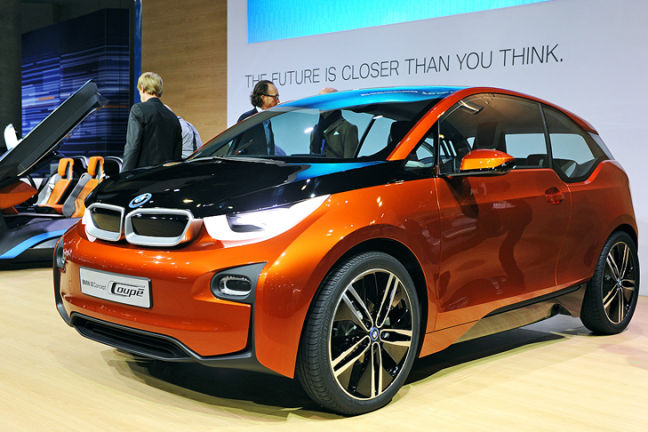 Video: BMW i3 Concept Coupé