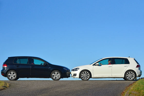 VW Golf VI/Golf VII: Test