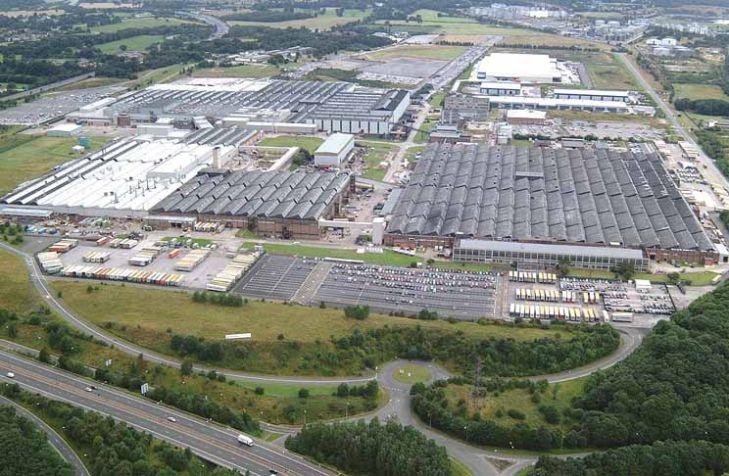 Opel Werk Ellesmere Port England