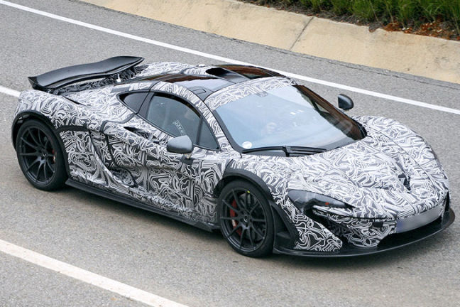 Video: Erlkönig McLaren P1