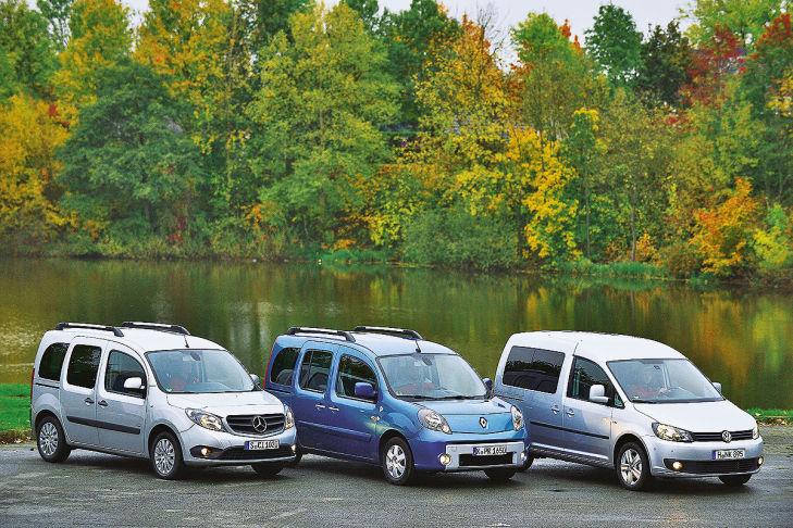 Mercedes Citan Renault Kangoo VW Caddy