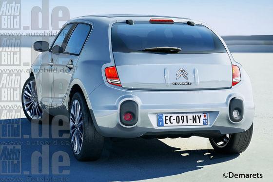 Studie: Citroën E3 Essentielle