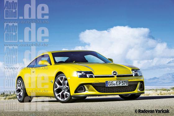 Opel Manta Illustration