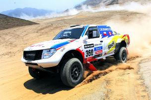Start der 34. Rallye Dakar