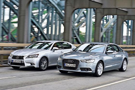 Audi A6 Lexus GS