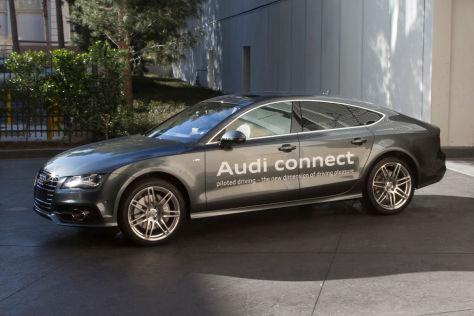 Audi A7 Sportback mit pilotierten Parken