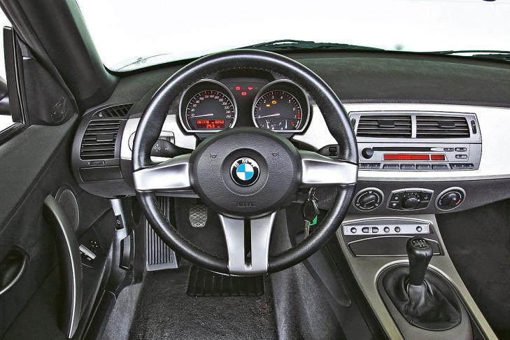 BMW Z4 2.2i: Innenraum