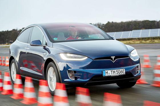 Tesla Model X 2017 Test Reichweite Und Preis Autobild De