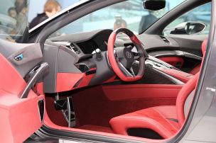Blick in den neuen NSX